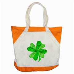 St Patricks Day Shamrock Green Accent Tote Bag by Nexatart