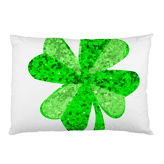 St Patricks Day Shamrock Green Pillow Case