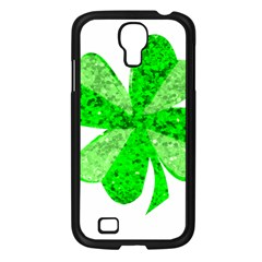 St Patricks Day Shamrock Green Samsung Galaxy S4 I9500/ I9505 Case (black) by Nexatart