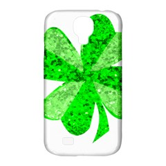 St Patricks Day Shamrock Green Samsung Galaxy S4 Classic Hardshell Case (pc+silicone)