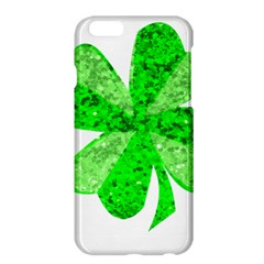 St Patricks Day Shamrock Green Apple Iphone 6 Plus/6s Plus Hardshell Case by Nexatart