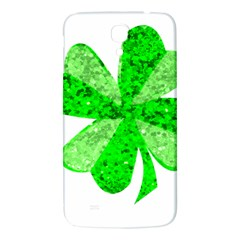 St Patricks Day Shamrock Green Samsung Galaxy Mega I9200 Hardshell Back Case by Nexatart