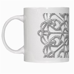 Scrapbook Side Lace Tag Element White Mugs by Nexatart