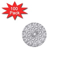 Scrapbook Side Lace Tag Element 1  Mini Buttons (100 Pack)  by Nexatart