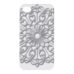 Scrapbook Side Lace Tag Element Apple Iphone 4/4s Premium Hardshell Case