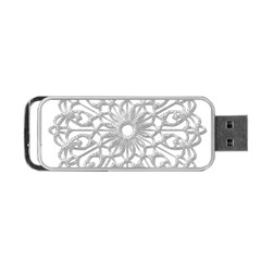 Scrapbook Side Lace Tag Element Portable Usb Flash (one Side) by Nexatart
