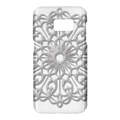 Scrapbook Side Lace Tag Element Samsung Galaxy S7 Hardshell Case  by Nexatart
