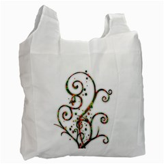 Scroll Magic Fantasy Design Recycle Bag (one Side) by Nexatart