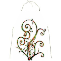 Scroll Magic Fantasy Design Full Print Aprons