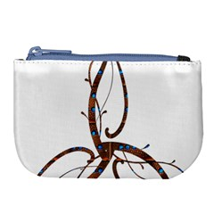 Abstract Shape Stylized Designed Large Coin Purse by Nexatart