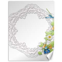 Scrapbook Element Lace Embroidery Canvas 36  X 48   by Nexatart