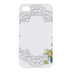Scrapbook Element Lace Embroidery Apple Iphone 4/4s Premium Hardshell Case