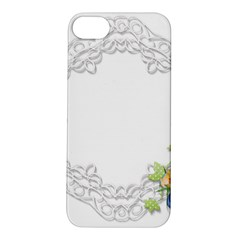Scrapbook Element Lace Embroidery Apple Iphone 5s/ Se Hardshell Case