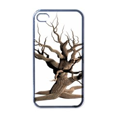 Tree Isolated Dead Plant Weathered Apple Iphone 4 Case (black)