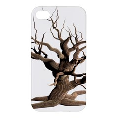 Tree Isolated Dead Plant Weathered Apple Iphone 4/4s Premium Hardshell Case