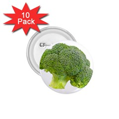 Broccoli Bunch Floret Fresh Food 1 75  Buttons (10 Pack) by Nexatart