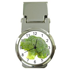 Broccoli Bunch Floret Fresh Food Money Clip Watches