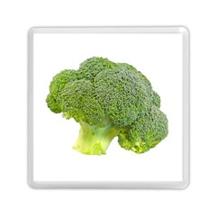 Broccoli Bunch Floret Fresh Food Memory Card Reader (square)