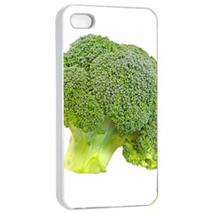 Broccoli Bunch Floret Fresh Food Apple Iphone 4/4s Seamless Case (white)