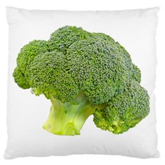 Broccoli Bunch Floret Fresh Food Large Cushion Case (two Sides)
