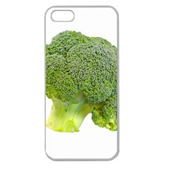 Broccoli Bunch Floret Fresh Food Apple Seamless Iphone 5 Case (clear) by Nexatart