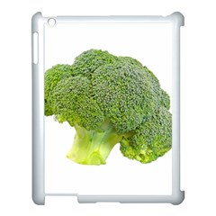 Broccoli Bunch Floret Fresh Food Apple Ipad 3/4 Case (white) by Nexatart