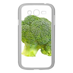 Broccoli Bunch Floret Fresh Food Samsung Galaxy Grand Duos I9082 Case (white) by Nexatart