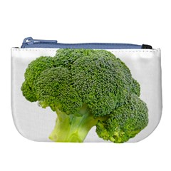 Broccoli Bunch Floret Fresh Food Large Coin Purse