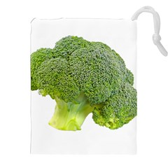 Broccoli Bunch Floret Fresh Food Drawstring Pouches (xxl) by Nexatart