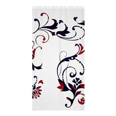 Scroll Border Swirls Abstract Shower Curtain 36  X 72  (stall)  by Nexatart
