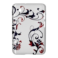 Scroll Border Swirls Abstract Samsung Galaxy Tab 2 (7 ) P3100 Hardshell Case  by Nexatart