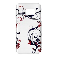 Scroll Border Swirls Abstract Samsung Galaxy S7 Hardshell Case