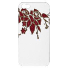 Scrapbook Element Nature Flowers Apple Iphone 5 Hardshell Case by Nexatart