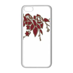 Scrapbook Element Nature Flowers Apple Iphone 5c Seamless Case (white)