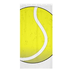 Tennis Ball Ball Sport Fitness Shower Curtain 36  X 72  (stall)  by Nexatart