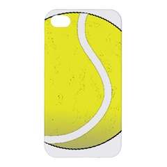 Tennis Ball Ball Sport Fitness Apple Iphone 4/4s Hardshell Case by Nexatart