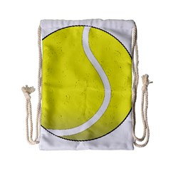 Tennis Ball Ball Sport Fitness Drawstring Bag (small)