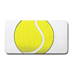 Tennis Ball Ball Sport Fitness Medium Bar Mats by Nexatart