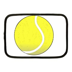 Tennis Ball Ball Sport Fitness Netbook Case (medium)  by Nexatart