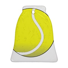 Tennis Ball Ball Sport Fitness Bell Ornament (two Sides) by Nexatart