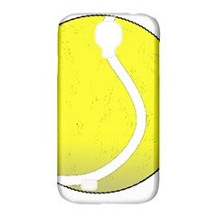 Tennis Ball Ball Sport Fitness Samsung Galaxy S4 Classic Hardshell Case (pc+silicone) by Nexatart