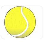 Tennis Ball Ball Sport Fitness Double Sided Flano Blanket (Medium)  60 x50 Blanket Front