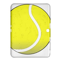 Tennis Ball Ball Sport Fitness Samsung Galaxy Tab 4 (10 1 ) Hardshell Case  by Nexatart