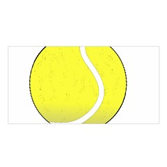 Tennis Ball Ball Sport Fitness Satin Shawl by Nexatart
