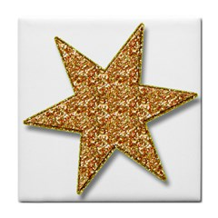 Star Glitter Tile Coasters