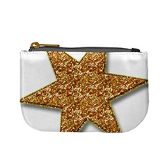 Star Glitter Mini Coin Purses by Nexatart