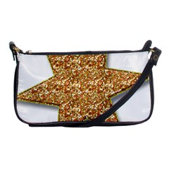 Star Glitter Shoulder Clutch Bags by Nexatart