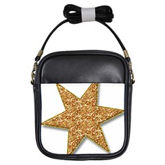 Star Glitter Girls Sling Bags by Nexatart