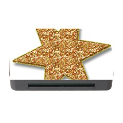 Star Glitter Memory Card Reader With Cf by Nexatart