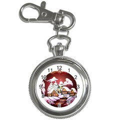 Christmas Decor Christmas Ornaments Key Chain Watches by Nexatart